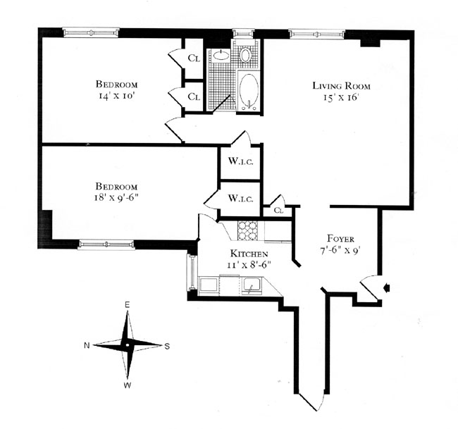 955 Park Avenue, Upper East Side, NYC, $634,500, Web #: 266225