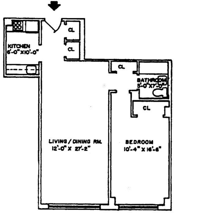 215 East 80th Street, Upper East Side, NYC, $475,000, Web #: 267145
