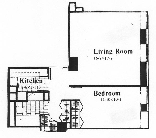 15 West 53rd Street, Midtown West, NYC, $565,000, Web #: 268074