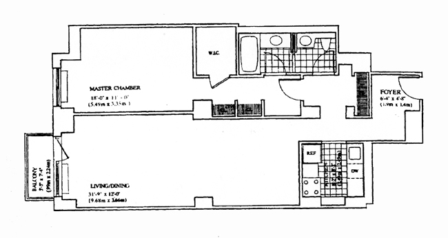 170 East 87th Street, Upper East Side, NYC, $615,000, Web #: 275542