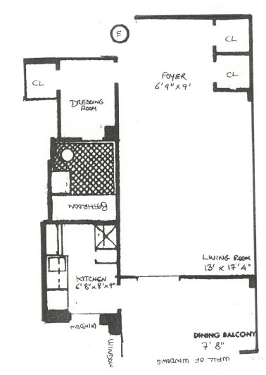 7 Lexington Avenue, Flatiron/Gramercy Park, NYC, $335,000, Web #: 279002
