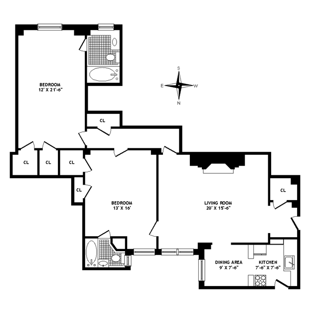 14 Sutton Place South, Midtown East, NYC, $965,000, Web #: 284680