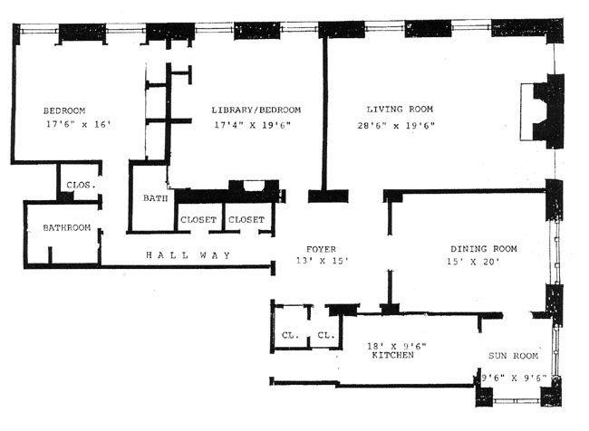 907 Fifth Avenue, Upper East Side, NYC, $3,525,000, Web #: 288062