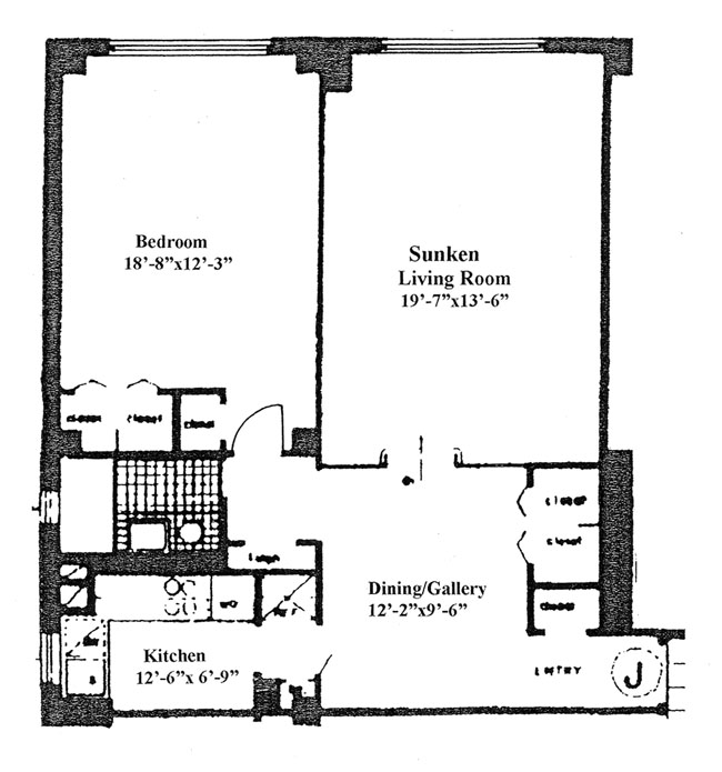 301 East 48th Street, Midtown East, NYC, $360,000, Web #: 289396