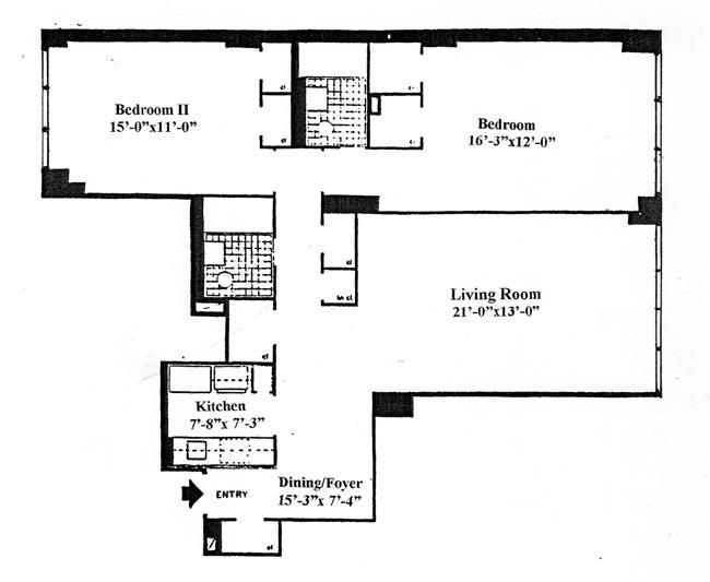 155 East 38th Street, Midtown East, NYC, $655,000, Web #: 291511