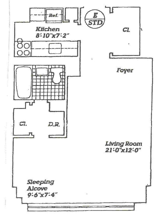 140 West End Avenue, Upper West Side, NYC, $265,000, Web #: 292428