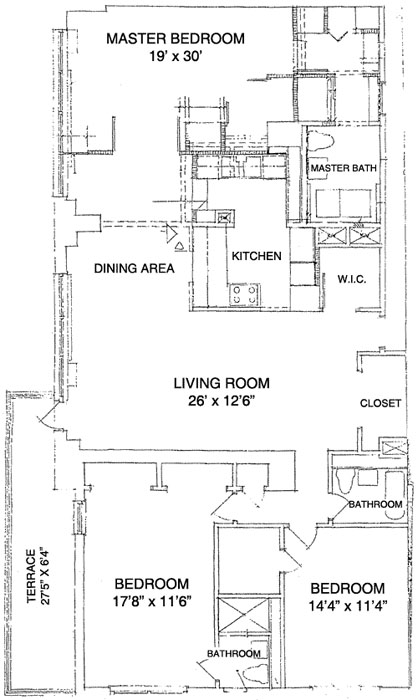 165 West End Avenue, Upper West Side, NYC, $1,340,000, Web #: 295494