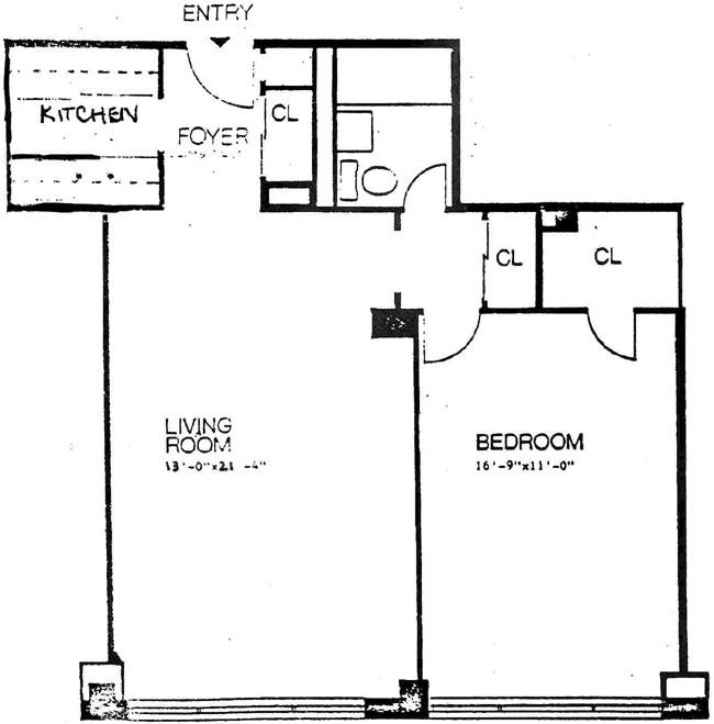 209 East 56th Street, Midtown East, NYC, $350,000, Web #: 295939