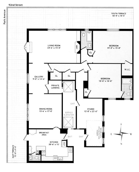 1160 Park Avenue, Upper East Side, NYC, $4,200,000, Web #: 297985