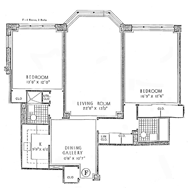116 East 66th Street, Upper East Side, NYC, $965,000, Web #: 298459