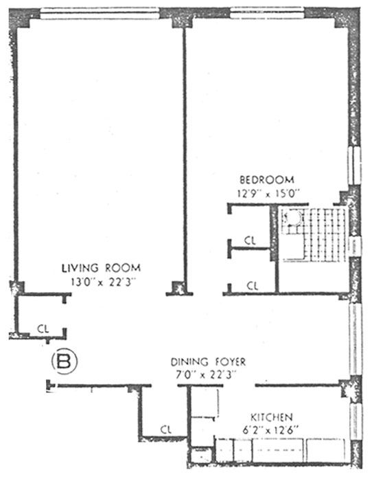 45 West 54th Street, Midtown West, NYC, $435,000, Web #: 304241