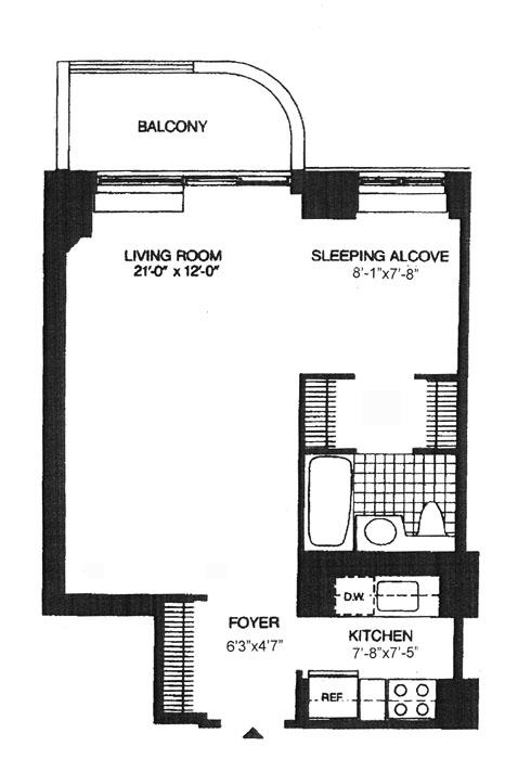 311 East 38th Street, Midtown East, NYC, $403,500, Web #: 304940