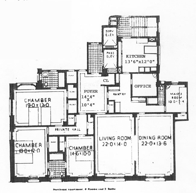 1155 Park Avenue, Upper East Side, NYC, $2,655,000, Web #: 305650