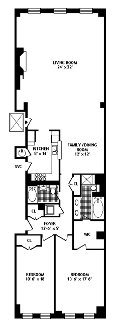 18 Leonard Street, Tribeca/SOHO/Chinatown, NYC, $2,100,000, Web #: 306268
