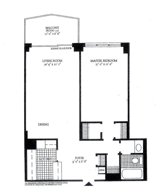 300 East 40th Street, Midtown East, NYC, $680,000, Web #: 307806
