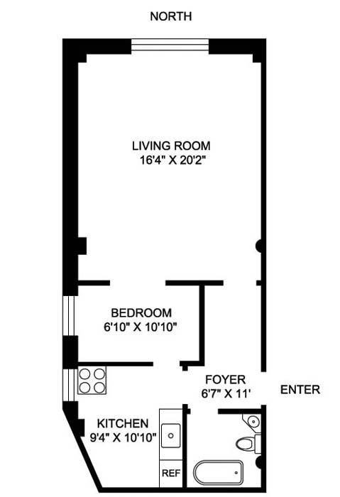 27 West 67th Street, Upper West Side, NYC, $655,000, Web #: 308427