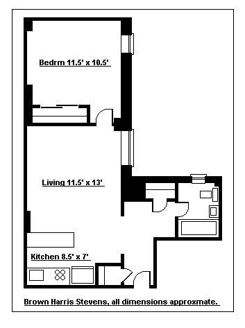 Quiet Pre-War One Bedroom Gem, Brooklyn, New York, $385,000, Web #: 3134833