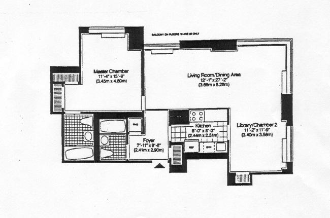 360 East 88th Street, Upper East Side, NYC, $815,000, Web #: 341649