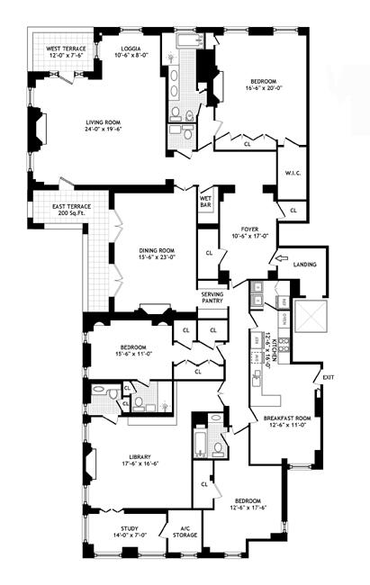 1107 Fifth Avenue, Upper East Side, NYC, $16,000,000, Web #: 342645