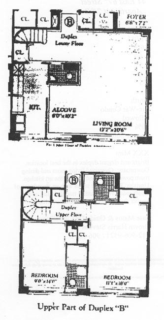 44 East 67th Street, Upper East Side, NYC, $1,950,000, Web #: 344165
