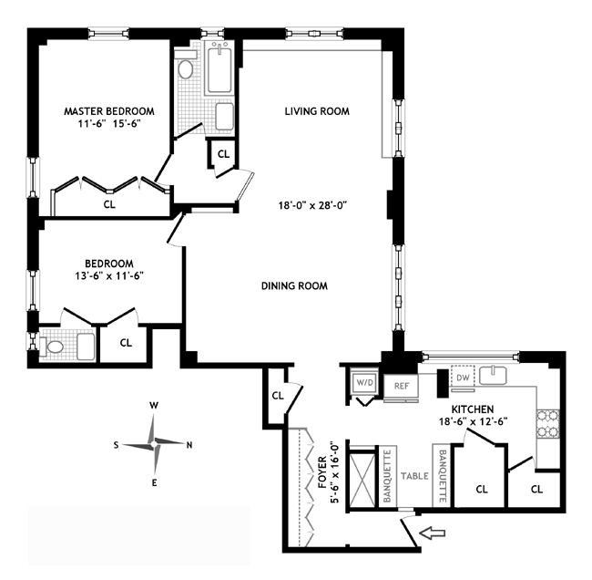 895 West End Avenue, Upper West Side, NYC, $1,150,000, Web #: 346523