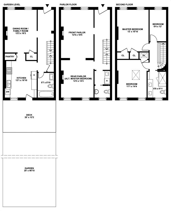 Mint Brick, Townhouse, Brooklyn, New York, $2,000,000, Web #: 3627725