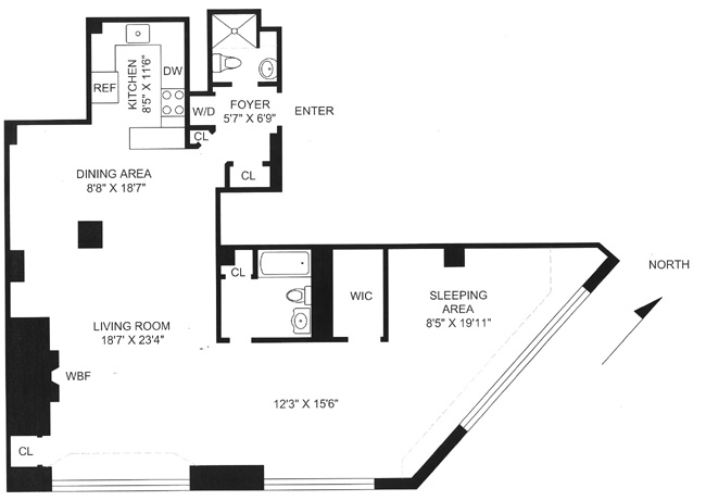 32 Morton Street, West Village, NYC, $1,210,000, Web #: 382041