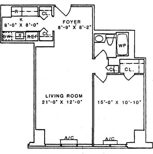 404 East 79th Street, Upper East Side, NYC, $725,000, Web #: 394647