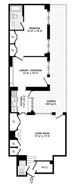 14 East 74th Street, Upper East Side, NYC, $999,000, Web #: 399943