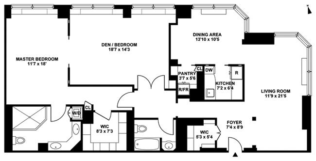 415 East 37th Street, Midtown East, NYC, $1,870,600, Web #: 4044215