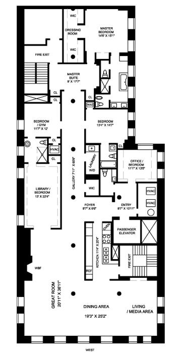 158 Mercer Street, Greenwich Village/NOHO/Little Italy, NYC, $10,000,000, Web #: 463999