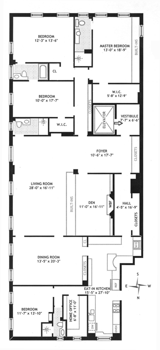 139 East 79th Street, Upper East Side, NYC, $5,650,000, Web #: 413237