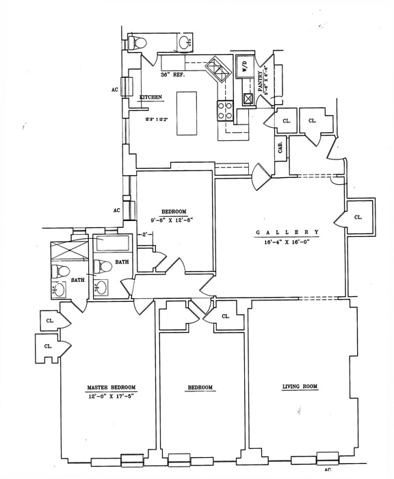 40 West 77th Street, Upper West Side, NYC, $3,350,000, Web #: 413243