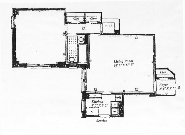 425 East 51st Street, Midtown East, NYC, $540,000, Web #: 416324