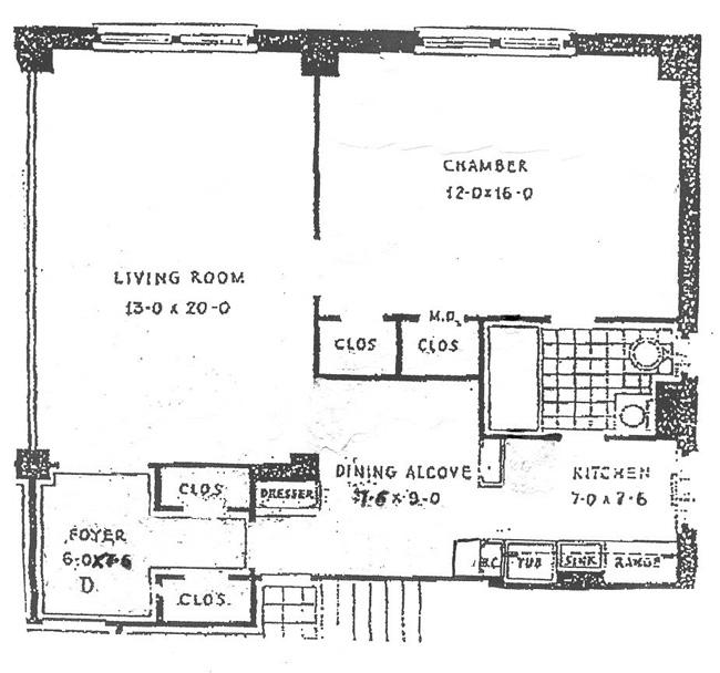 40 West 77th Street, Upper West Side, NYC, $750,000, Web #: 417596