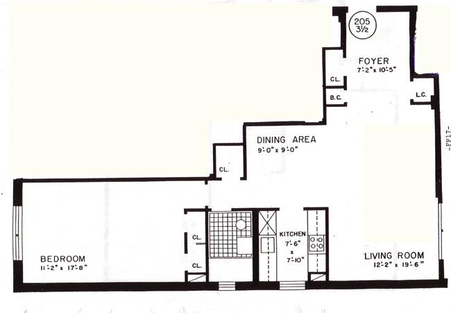 185 Prospect Park South W, Brooklyn, New York, $299,000, Web #: 421117