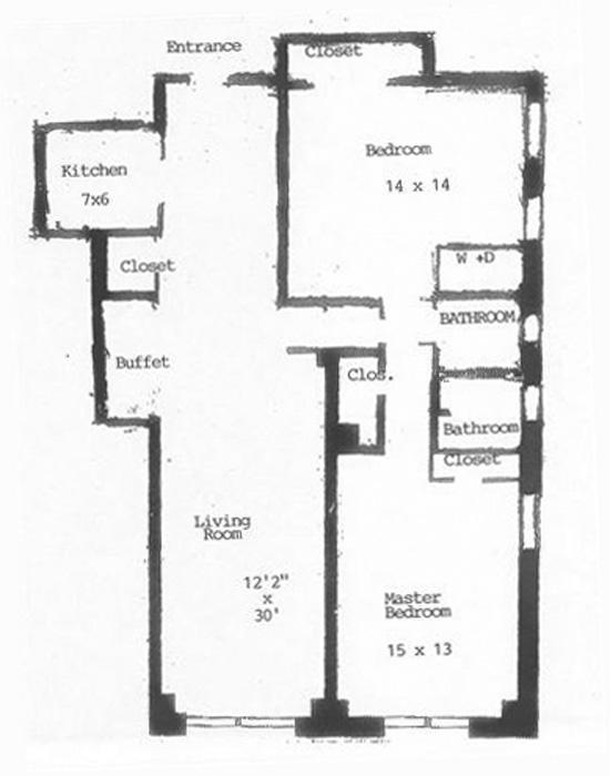 23 West 73rd Street, Upper West Side, NYC, $1,165,000, Web #: 423956