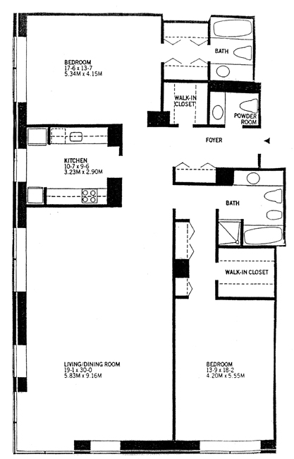 15 West 53rd Street, Midtown West, NYC, $2,400,000, Web #: 434723