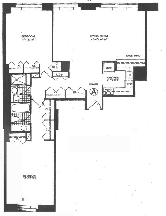 West 61st Street, Upper West Side, NYC, $4,800, Web #: 435418