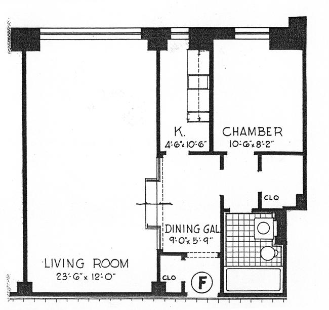 20 East 35th Street, Midtown East, NYC, $437,500, Web #: 436383