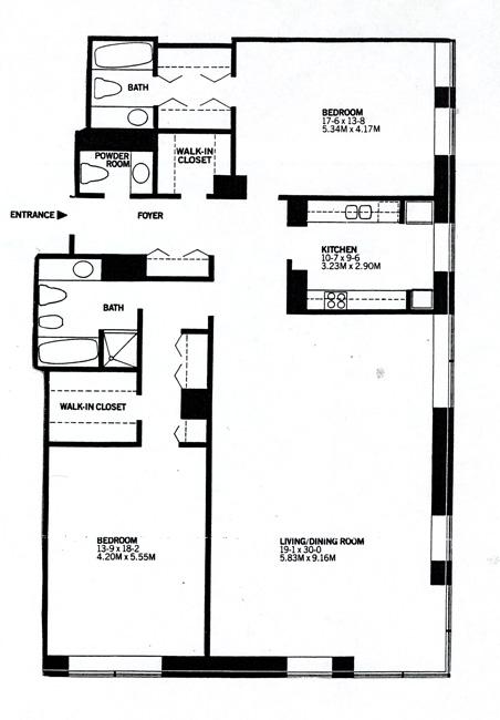 15 West 53rd Street, Midtown West, NYC, $2,200,000, Web #: 437987