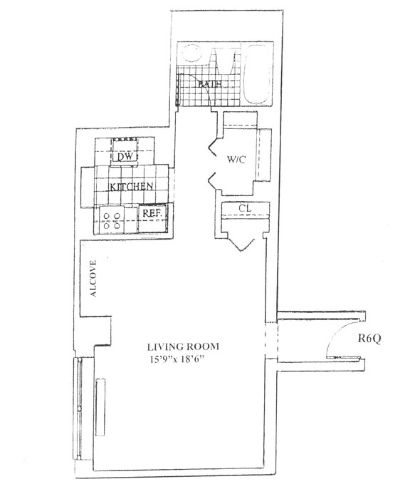 120 East 87th Street, Upper East Side, NYC, $575,000, Web #: 438425