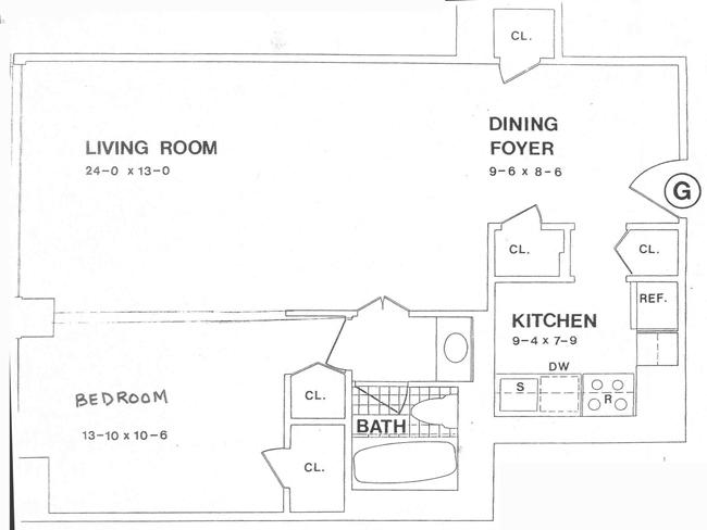 117 East 57th Street, Midtown East, NYC, $890,000, Web #: 441524
