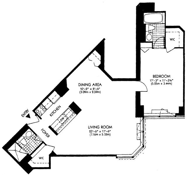 415 East 37th Street, Midtown East, NYC, $960,000, Web #: 446954