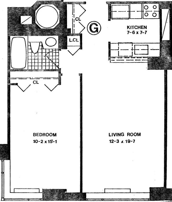 30 West 61st Street, Upper West Side, NYC, $675,000, Web #: 447825