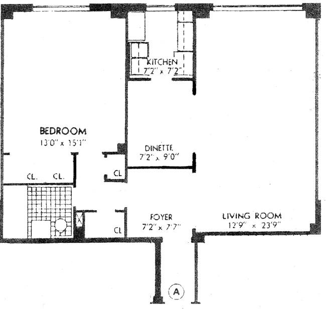 15 West 84th Street, Upper West Side, NYC, $715,000, Web #: 452149