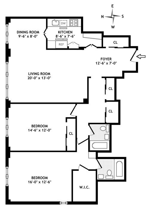 415 East 52nd Street, Midtown East, NYC, $1,195,000, Web #: 452433