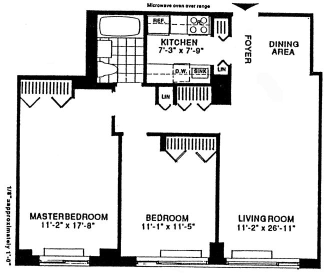 2 South End Avenue, Battery Park City, NYC, $525,000, Web #: 454436