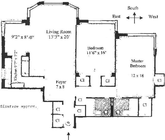 440 East 56th Street, Midtown East, NYC, $995,000, Web #: 457735
