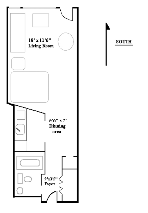 304 East 73rd Street, Upper East Side, NYC, $255,000, Web #: 463269